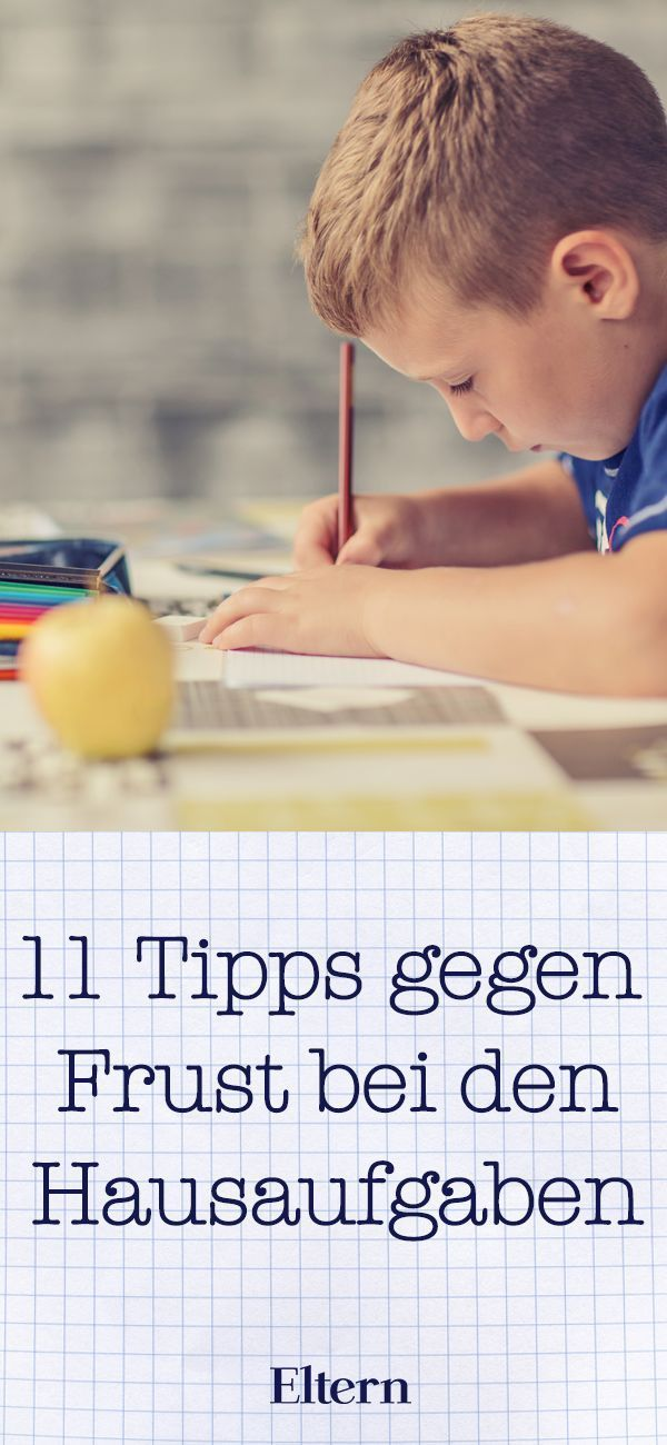 Elf praktische Tipps gegen den Hausaufgaben-Frust