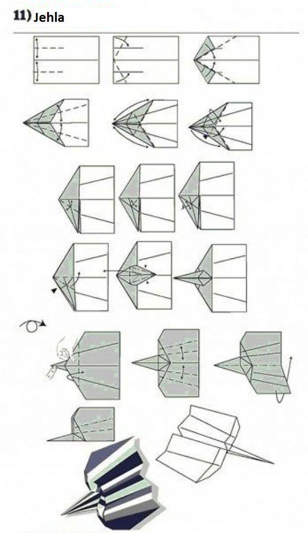 Vlaštovka z papíru  - Jehla