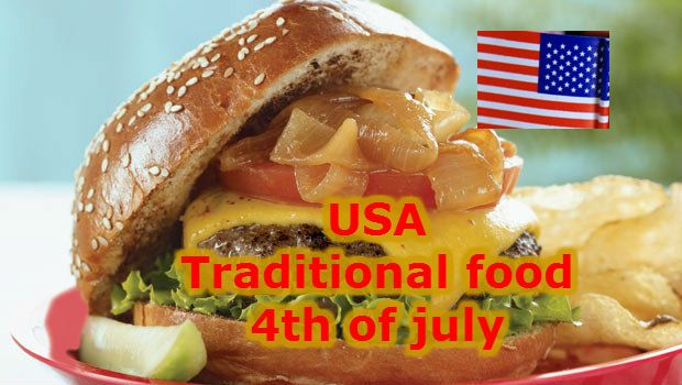 Independence Day USA food, traditional food