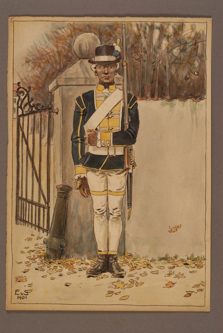 Regiment of Kronoberg by Einar von Strokirch