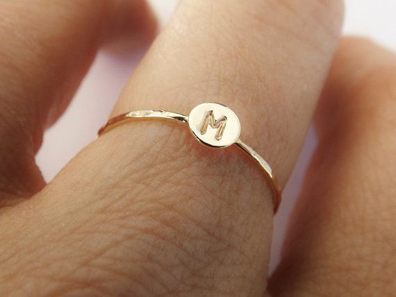 Hey, I found this really awesome Etsy listing at https://www.etsy.com/listing/248035024/skinny-solid-gold-initial-stacking