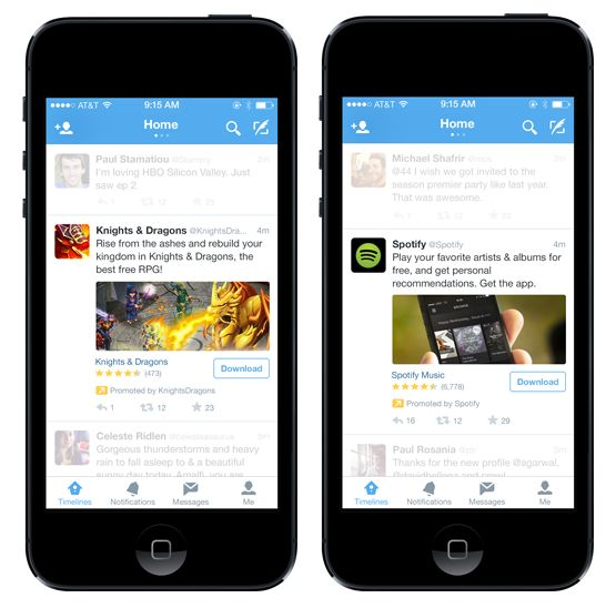 Twitter Introduces Mobile App Install Ads And Integrated Ad-Buying With MoPub