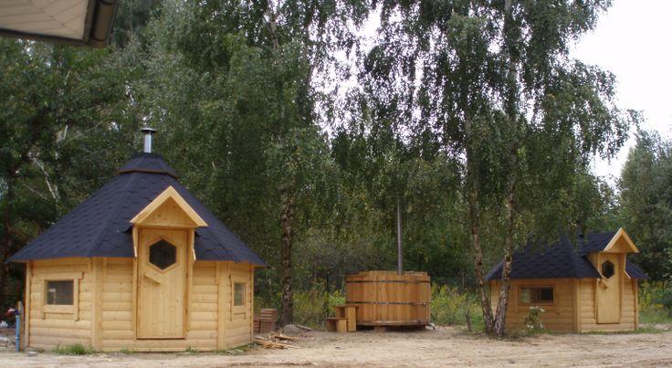 Ogien,para,sol - domki grillowe, chata solna, ruska bania | A2 Domki Grillowe - Sauny Ogrodowe