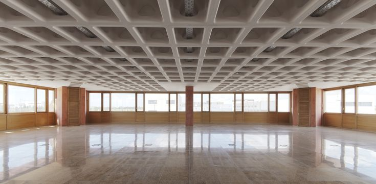 """One of the defining images of the 2014 Venice Biennalecame from Rem Koolhaas' """"Elements of Architecture"""" exhibition, where a section of a suspended..."""