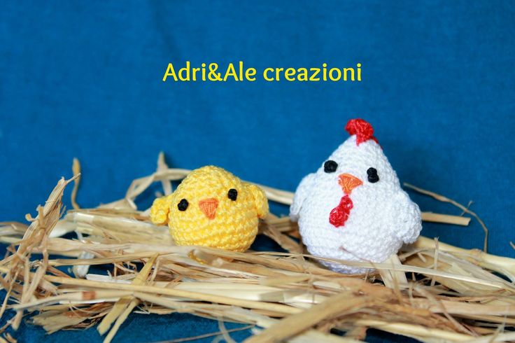 Amigurumi chicken and chicks made by @AeAcreazioni ******* ****** Le Maddine & Maddy ****** ***** https://www.facebook.com/groups/531953423561246/ ***** #madeinfacebook #lemaddine #handmade #handcrafted #instagram #instapic #instagood #picoftheday #instacool #handmade #cool #cute #easter #chicken #chick #white #yellow #easter #crochet #crocheting #crochetaddict #amigurumi #nest #adrialecreazioni