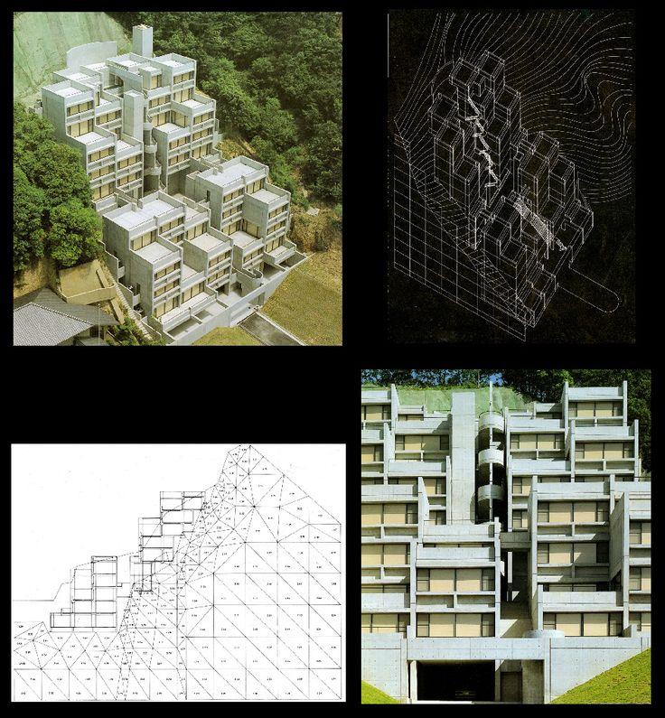 Critical Regionalism : Tadao Ando: The Rokko Housing I,II,III