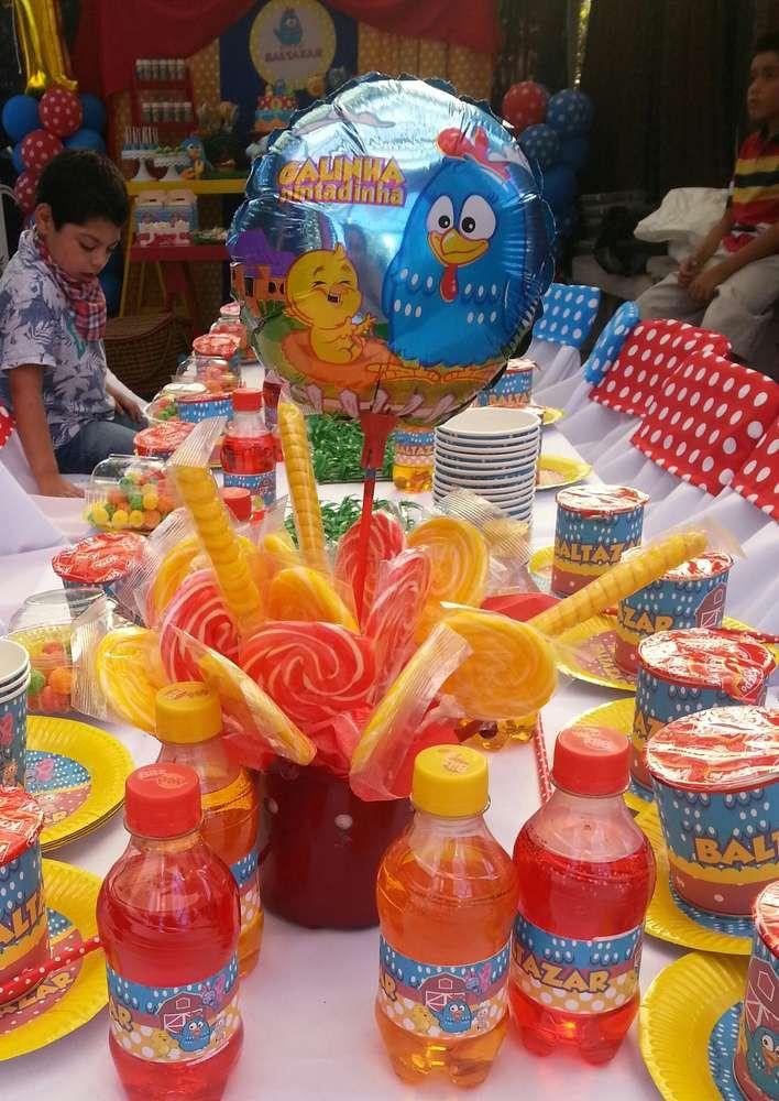Gallina Pintadita Birthday Party Ideas | Photo 4 of 17 | Catch My Party
