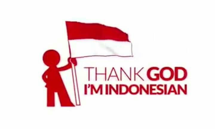 Thank God I'm Indonesian