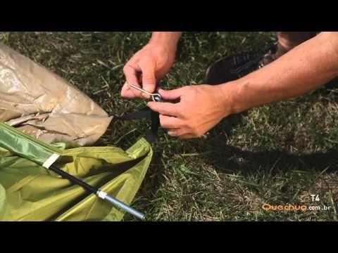 Barraca de Camping 4 Pessoas Quechua T4 Essential em Promoção - Decathlon
