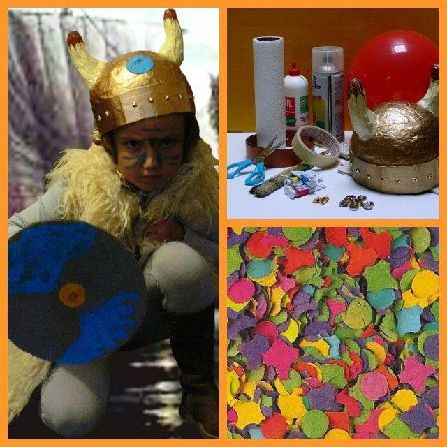 Carnevale, riciclo e fantasia: il costume da vichingo fatto in casa