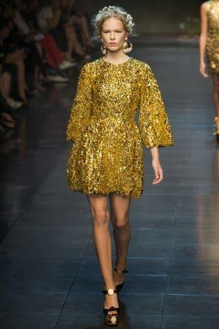 Mode: MILAN FASHION WEEK: Dolce & Gabbana Spring Summer 2014