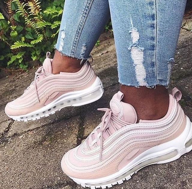 Sneakers Pink Nike Air Max 97 Shoes For School Sneakers