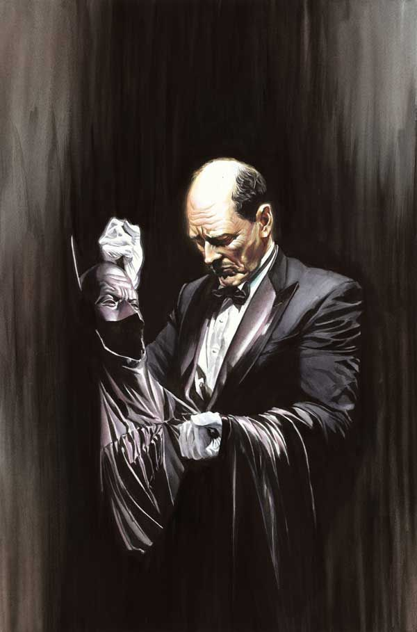 alex ross | Alex Ross - Alfred Pennyworth - Tapiture