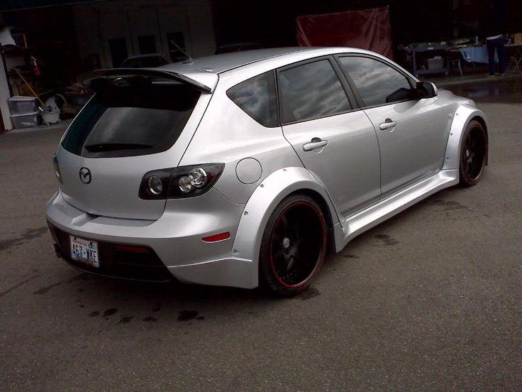 Widebody Mazdaspeed 3 - StanceWorks