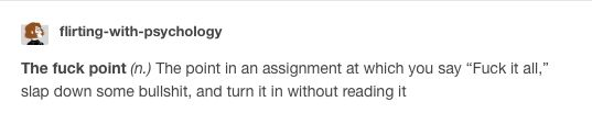 Tumblr funny Every essay I have ever written, I'm not kidding