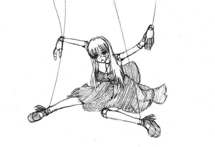 рисунки с марионеткой для гладиолуса