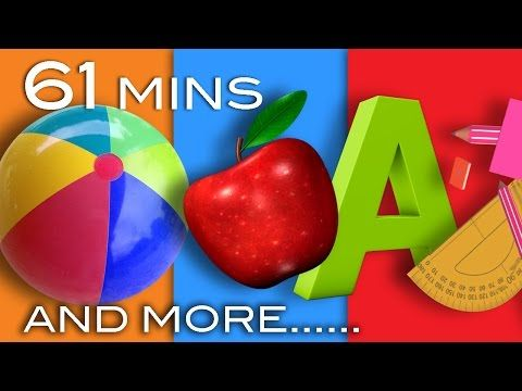 Learning Songs | ABCs, Colors, 123s, Growing-up And More! | Preschool Songs | From LittleBabyBum - YouTube
