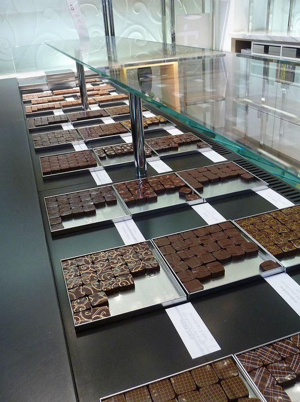 Chocolates at Jacques Genin...