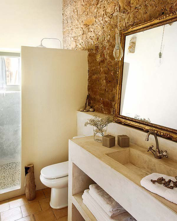 baño rusticos obra - Cerca amb Google
