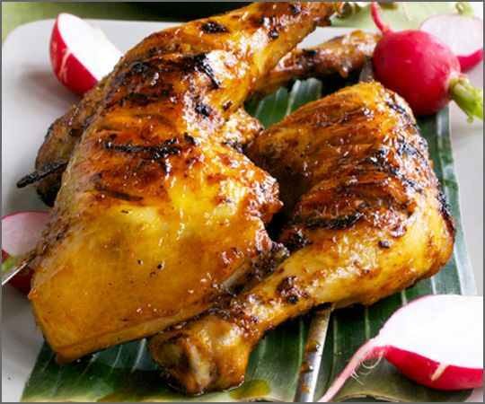 Chicken Inasal - Filipino BBQ chicken with lemongrass ...