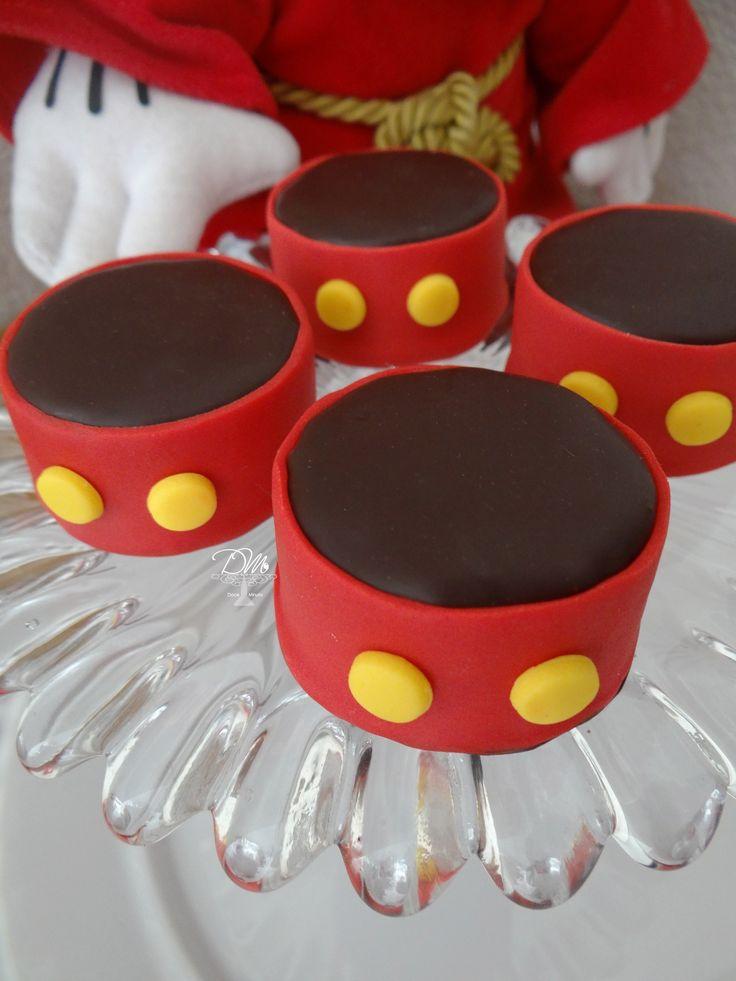 Pão de mel decorado tema Mickey