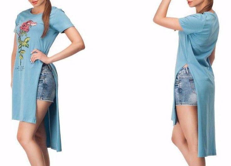 ТУНИКА ЖЕНСКАЯ В РАСЦВЕТКАХ 19884  Материал: трикотаж- 90% коттон, 10% полиэстер.  Цвет: пудра, джинс, зеленый, красный, белый. Оттенки могут отличаться. Размер: 42-46 универсальный. Длина 89/110 см. Пр-во Турция.  https://bole-ro.com.ua/p550960347-tunika-zhenskaya-rastsvetkah.html  #женскиетуники #туники #туникиопт #купитьтунику #платье7км #7км #болеро #женскаяодежда #одежда
