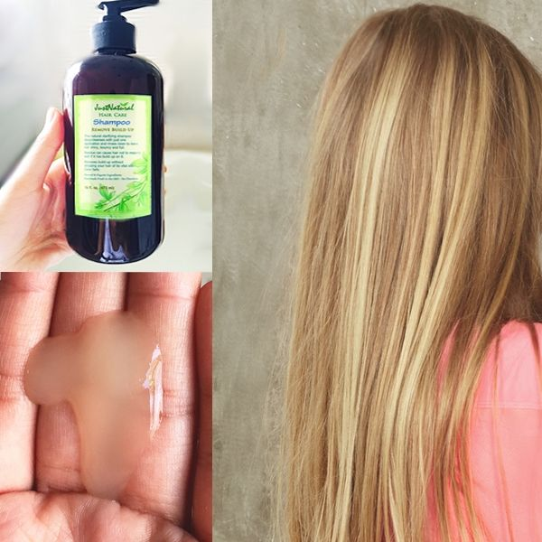 My hair never looked so good after using this! This is a wonderful natural hair product. I use this once in a while when I get tired of my usual shampoos. This is non-greasy, and it really takes the oil out of your hair, without drying it out. My hair feels soft and light after using it. I recommend this to anyone with oily hair or normal hair with a slightly oily scalp. Also recommended for anyone who uses hair styling products, as it will take out the buildup of these too.