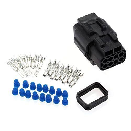 LUFA Auto accessoires étanche 1 Kits 8 Pin Way connecteur étanche fil Plug-Set Car Auto: Description: 1. réalisée en matériau ignifuge et…