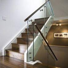 Стеклянная лестница и ограждения из стекла под заказ (495)998-73-71. http://marshag.ru