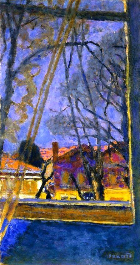 547 best images about painting the town on pinterest for Pierre bonnard la fenetre