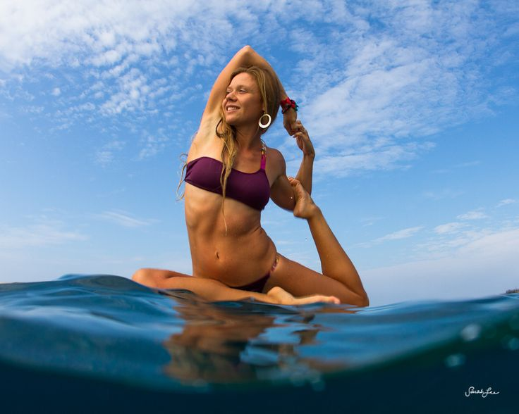 """""""yoga on the water"""" · the Odina Surf girls practice SUP ..."""