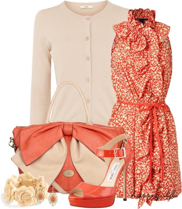 Лососевый цвет фото в одежде