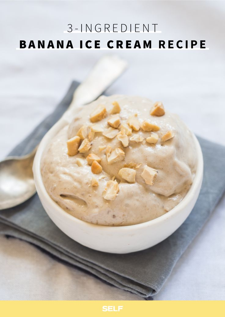 the refreshing treat is six bananas, six tablespoons of peanut butter ...