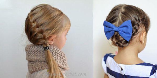 Very cute hairstyle ideas for girls! Χαριτωμένα χτενίσματα για τις μικρές μας φίλες!
