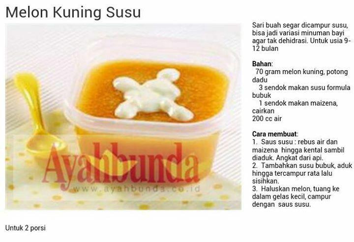 Melon Kuning Susu