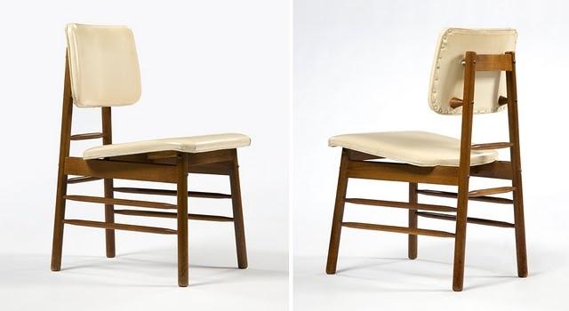 """Good Design"" dining chair, designed by Greta Magnusson Grossman for Glenn of California, 1952"