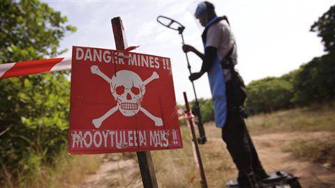 Le déminage au Sénégal