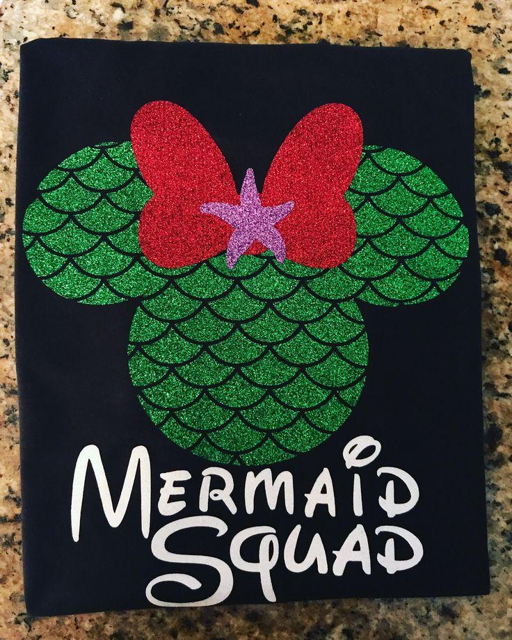 A personal favorite from my Etsy shop https://www.etsy.com/listing/521187332/disney-family-shirts-mermaid-shirt