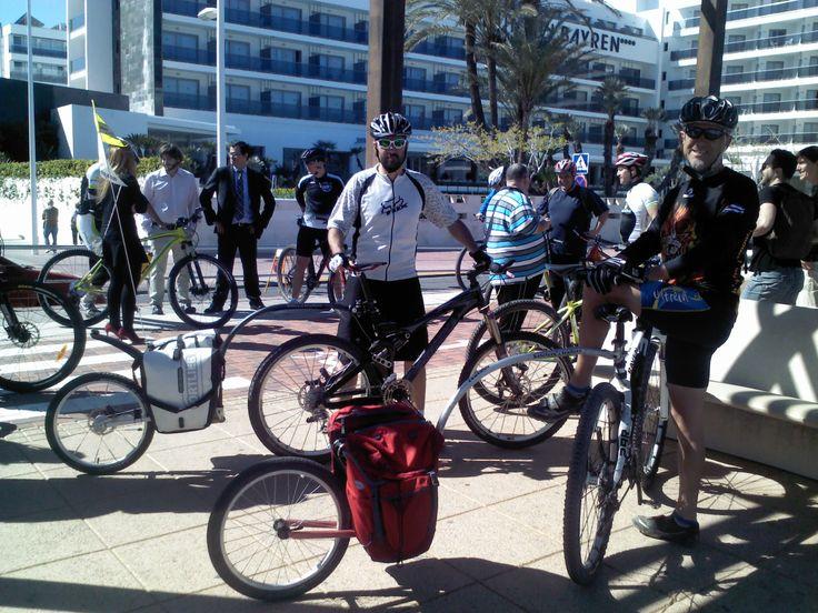 Jornada organizadas por Bikefriendly acerca de alojamientos para cicloturistas en la que algunos de ellos pudieron probar los Evo 2