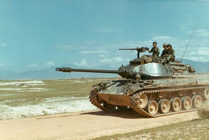 M41 Walker Bulldog - American light tank
