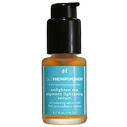 Best ever for acne scars! Worth every penny. Ole Henriksen - Enlighten Me Pigment Lightening Serum #sephora