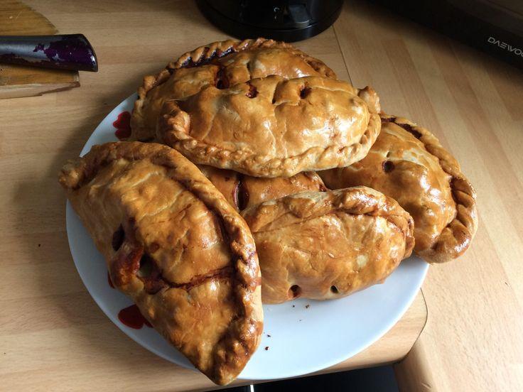 [homemade] Cornish pasties.