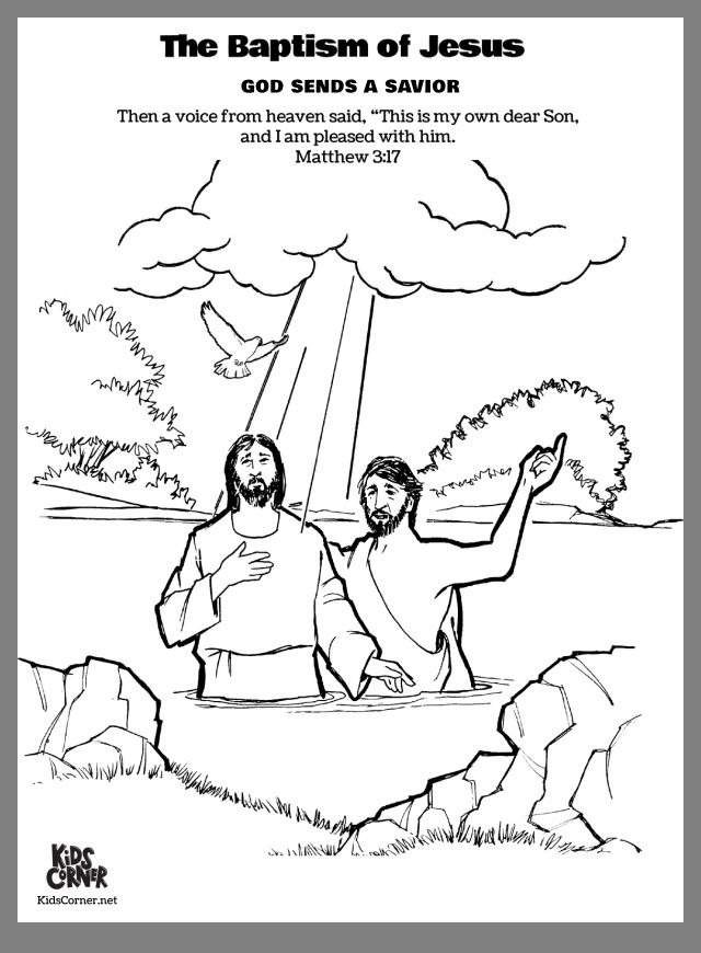 Bible Lessons Image By Kay Greer Jesus Coloring Pages John The