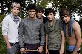 I hate that Liam's the only one with his shirt off.