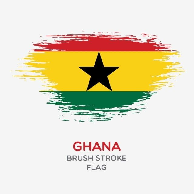 Ghana Brush Stroke Flag Brush Stroke Flags Country Flag National Flag Png And Vector With Transparent Background For Free Download Brush Strokes Flag Flag Vector