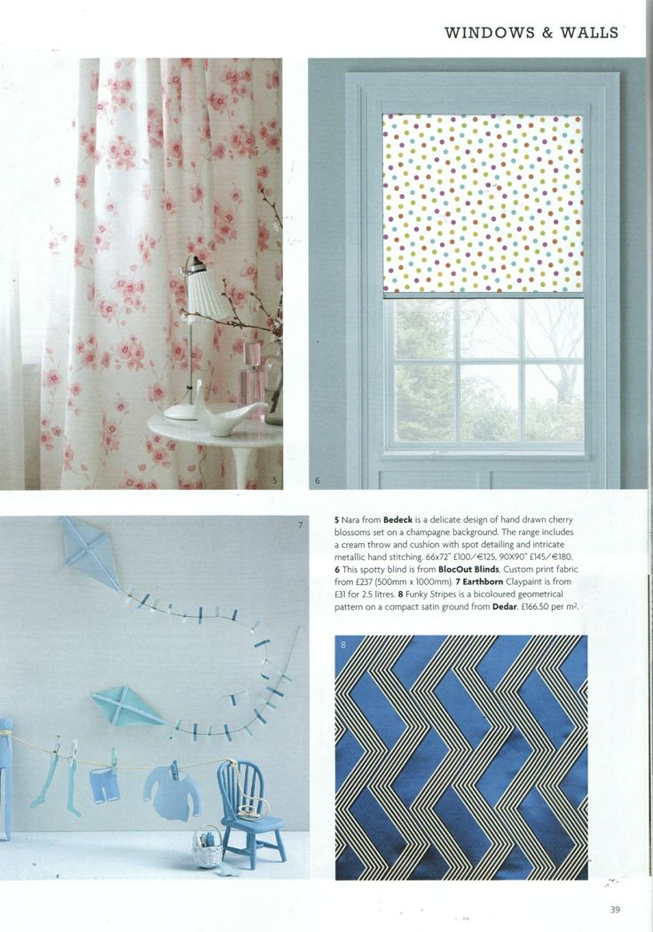 Bloc Blinds Feature In Irelands Homes Interiors Living Magazine May 14 Blocblinds Polkadots