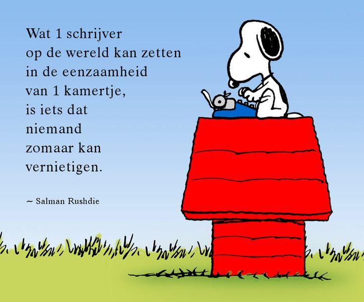 #citaten #schrijver #Rushdie Quote van de week 12-2013 -- door Tekstbureau Van Ginneken