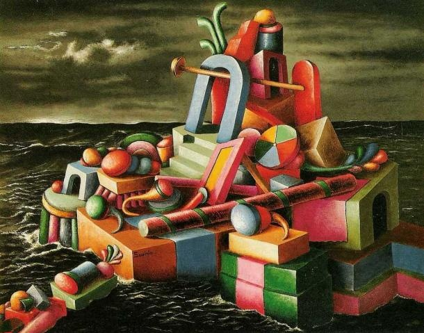 L'isola dei giocattoli - Alberto Savinio 1930