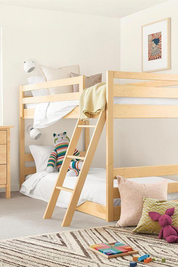 Source European Design Wooden Bunk Bed With Slide Double Bunk