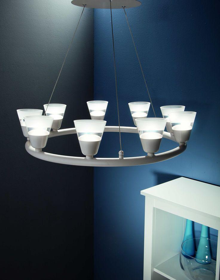 Proste rozwiązania też potrafią być efektownymi #obi #obipolska #wnętrza #interior #design #homestyle #decor #lighting